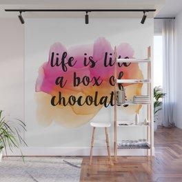 Box of chocolates Wall Mural