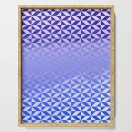 Magic Vibrations (Blue) Serving Tray
