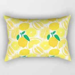 Lemon Harvest Rectangular Pillow
