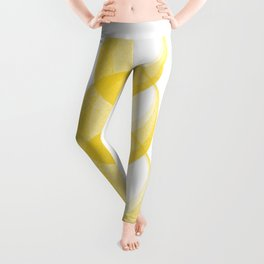 Miminalist Golden Circles Abstract Leggings