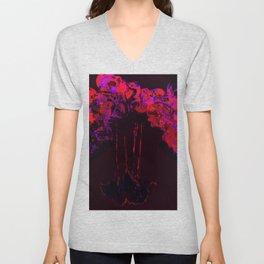 Orchid Unisex V-Neck