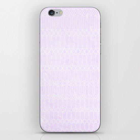 Purple Circles iPhone & iPod Skin