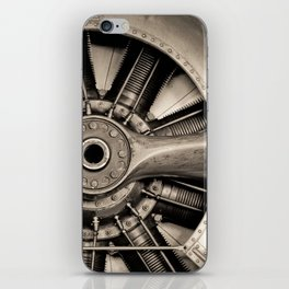 Aviation Decor, Vintage Propeller, Airplane Art iPhone Skin