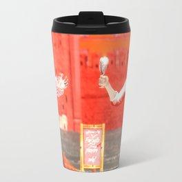 SquaRed: Champagne Travel Mug