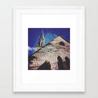 spires Framed Art Prints featuring SPIRES by Katie Delz