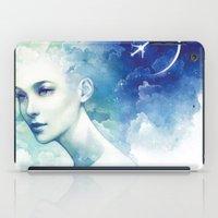 flight iPad Cases featuring Flight by Anna Dittmann