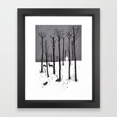 Mister Yeti's Great Escape Framed Art Print