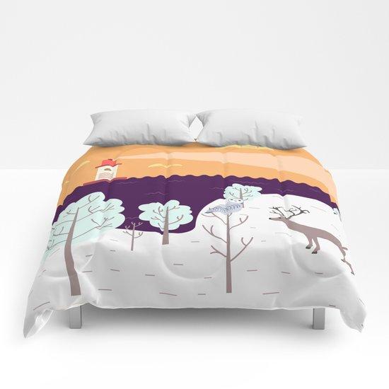 Wild Light Comforters