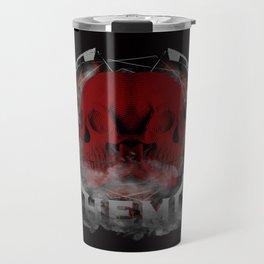 HEMI - Double Skull Explosion Travel Mug