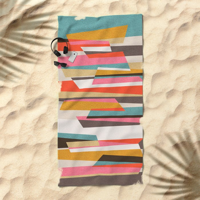 Fragments VII Beach Towel