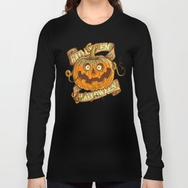 Halloween dark khaki Long Sleeve T-shirt