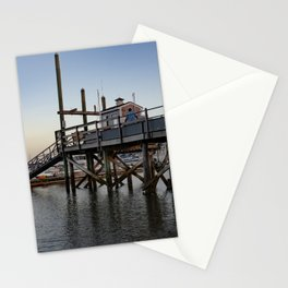 Dusk on Scituate Harbor Stationery Cards