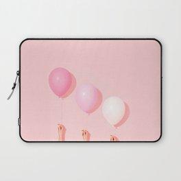 Three balloons in blush Laptop Sleeve