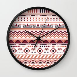 autumn ethnic Wall Clock