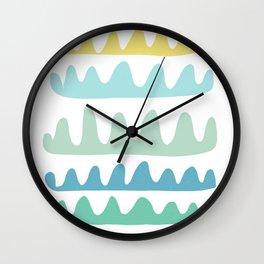 sea fans Wall Clock