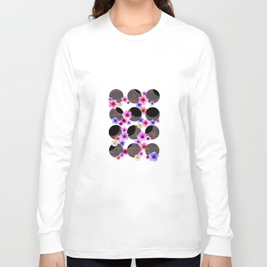 Spring Solar Eclipse 2015 Long Sleeve T-shirt