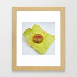 mcchicken Framed Art Print