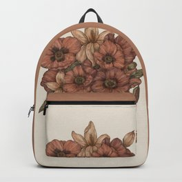 Poppies and Lilies Backpack