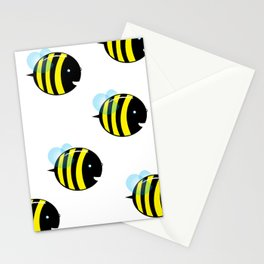 easy as a bee see.  Stationery Cards