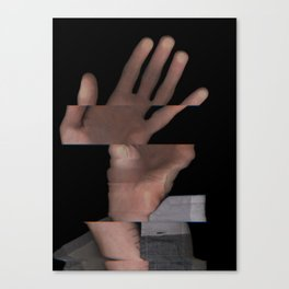 Hands On #6 (Series) Canvas Print