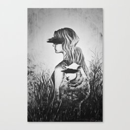 Blinded Sheep Canvas Print