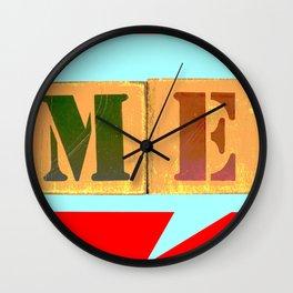 Say Me! Wall Clock