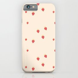 Strawberry Jam iPhone Case
