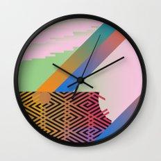 Clrfl Spill Wall Clock