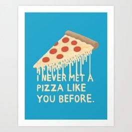 Sweet Pizza Art Print