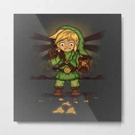 Finding Triforce´s Fragments Metal Print