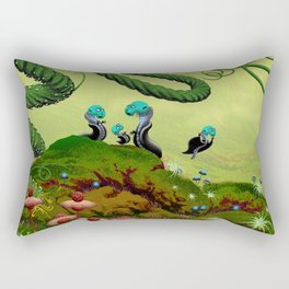 Majestic Night Rectangular Pillow