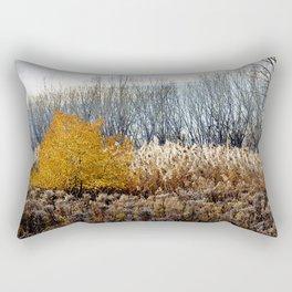 November nature in Québec Rectangular Pillow