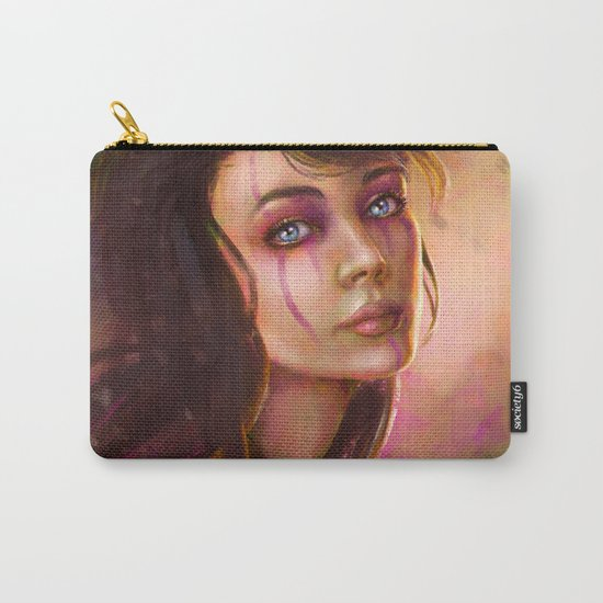 Druid Girl Fantasy Digital Painting Carry-All Pouch