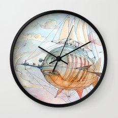 The Flying Fish! Wall Clock
