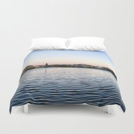 The Lakes Evening Duvet Cover