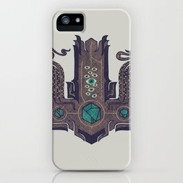 The Crown of Cthulhu iPhone Case