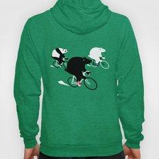Cycling Bear Race Hoody