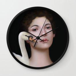 Miss Swan Wall Clock