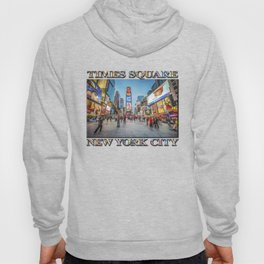 Times Square Sparkle (with typography) Hoody