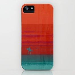 The Surf - Sundowner iPhone Case