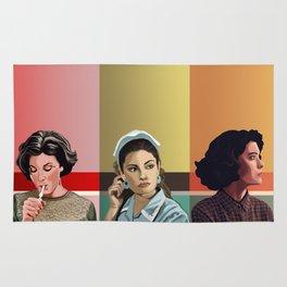 The Girls of Twin Peaks Rug