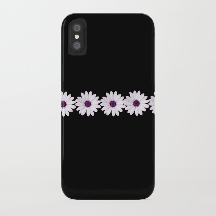 Daisy chain pink iphone case iPhone Case