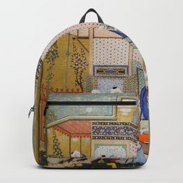 Hafiz - Allegory of Worldly and Otherworldly Drunkenness Backpack