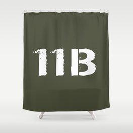 11B Infantryman Shower Curtain