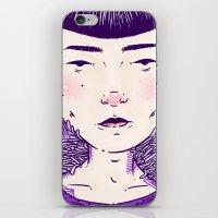 evil eye iPhone & iPod Skins featuring Evil Eye. by Skullflower