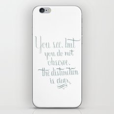 Observation iPhone & iPod Skin