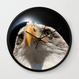 Night sniper Wall Clock