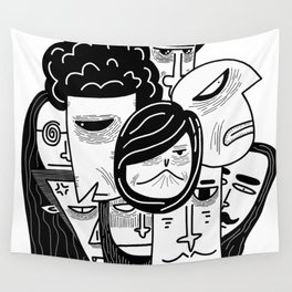 The Odd Bunch Wall Tapestry