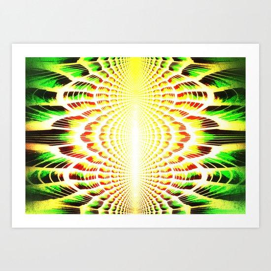 EYEZOOM Art Print