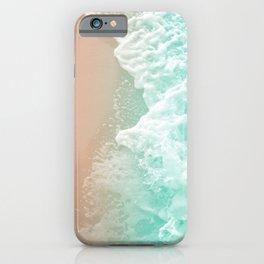Soft Emerald Beige Ocean Beauty #1 #wall #decor #art #society6 iPhone Case